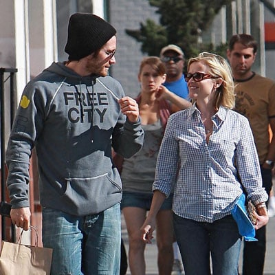 Reese Witherspoon and Jake Gyllenhaal Happy After Brunch