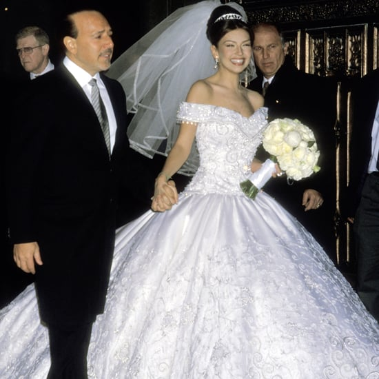 These Throwback Pictures of Thalia and Tommy Mottola's Glamorous Wedding Are Everything