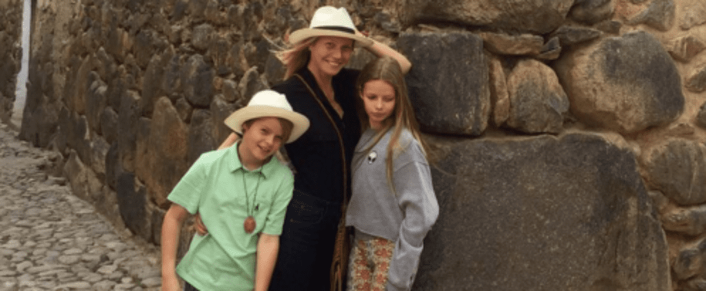 Gwyneth Paltrow Enjoys a Relaxing Holiday With Her 2 Kids in Peru