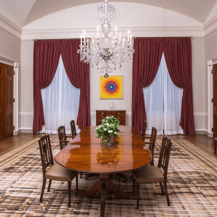 Dining Room Makeover: The White House Family Dining Room Makeover