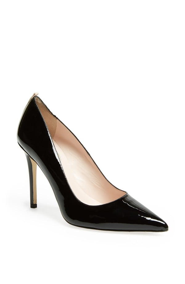 Fawn in Black Patent Leather