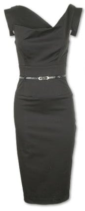 The Look For Less: Black Halo Jackie O Dress