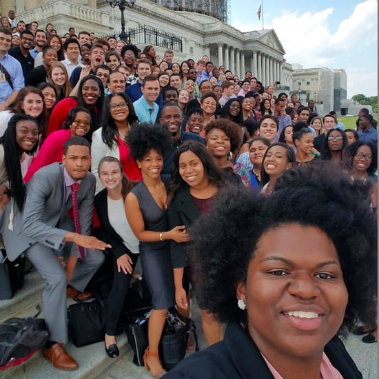 Democratic Intern Selfie 2016