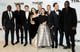 The cast of Thor: The Dark World gathered for a group photo at the film's world premiere in London on Tuesday.