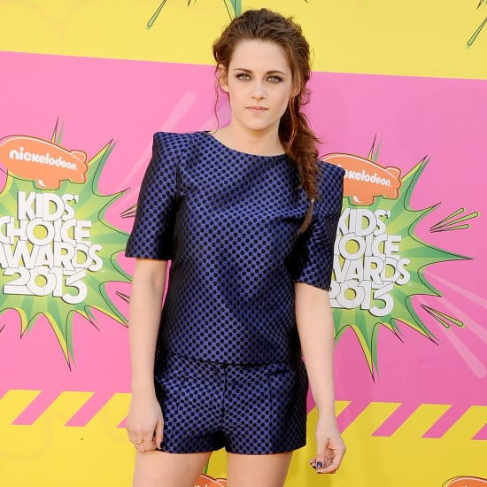 Kristen Stewart Sexy Blue Osman Studio Shorts, Kids' Choice