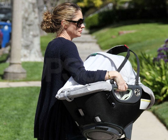 Slide Photo of Rebecca Gayheart and Billie in LA