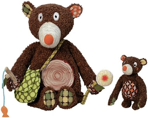 Woodours Daddy and Baby Bear Interactive Playset ($50)
