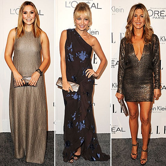 Pictures of Celebrities at the 2011 Elle Women in Hollywood Tribute in Beverly Hills: Nicole Richie, Jennifer Aniston and more!