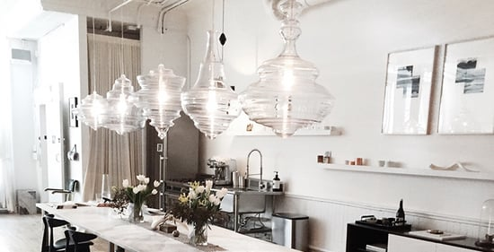 High/Low: Chandelier-Inspired Glass Pendant Lights