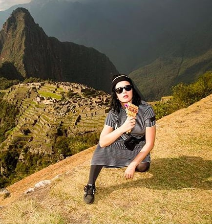 "Katy Perry Is Living ""That Bucket List Lyfe"" at Machu Picchu"