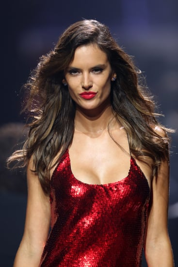 Models Light Up the amfAR Runway With Red-Hot Lips