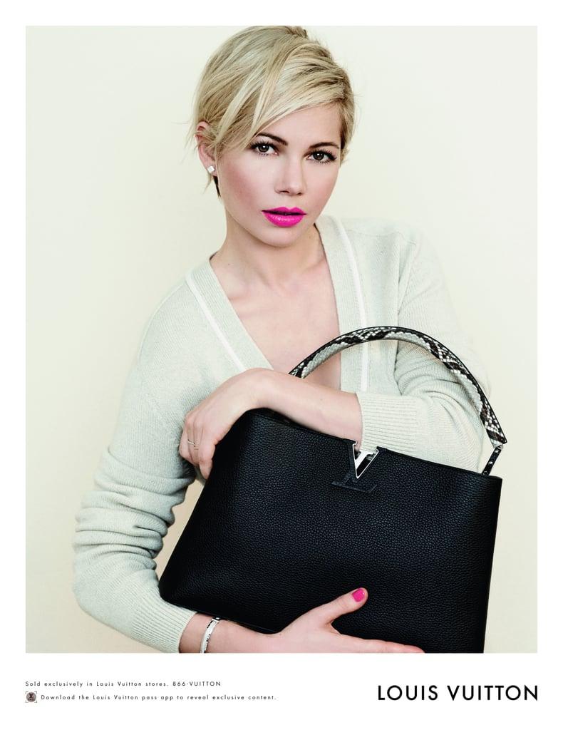 Michelle Williams's Spring 2014 Louis Vuitton Handbag Campaign
