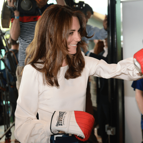 Duchess of Cambridge Boxing in London May 2016