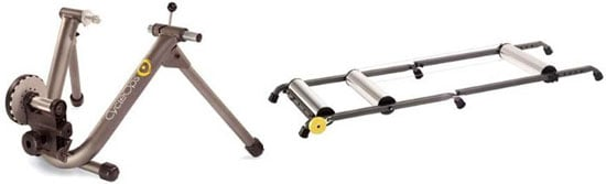 Use a Bicycle Trainer or Roller in the Winter