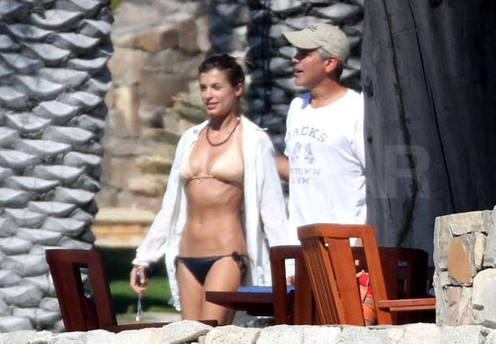 George Clooney's Girlfriend Elisabetta Canalis Bikini Pictures in Cabo