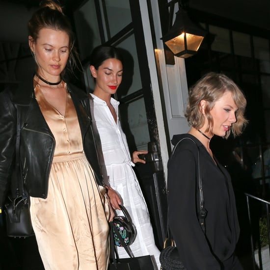 Taylor Swift, Behati Prinsloo, and Lily Aldridge in LA 2016
