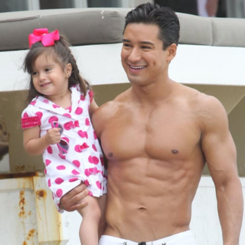 Celebrity Kids at the Beach