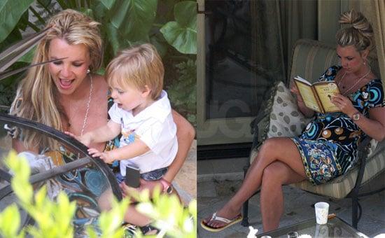 Images of Britney and Jayden James