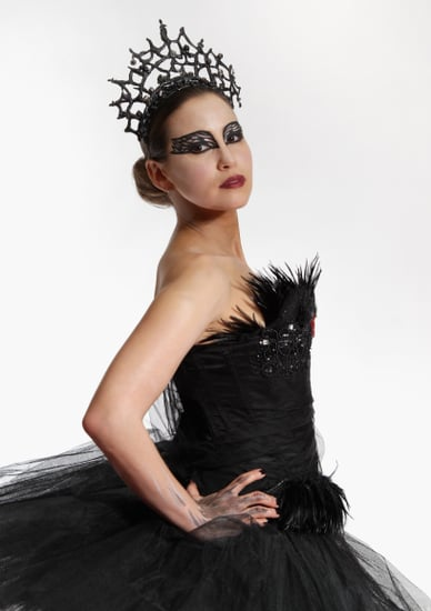 Pictures of Rachel Stevens Dressed as Natalie Portman in Black Swan to Promote Red Carpet Show at BAFTAs
