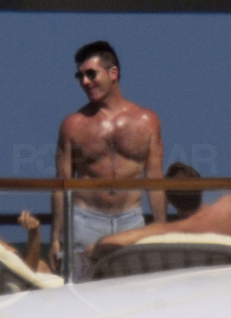 Photos of Sexy Shirtless Simon Cowell