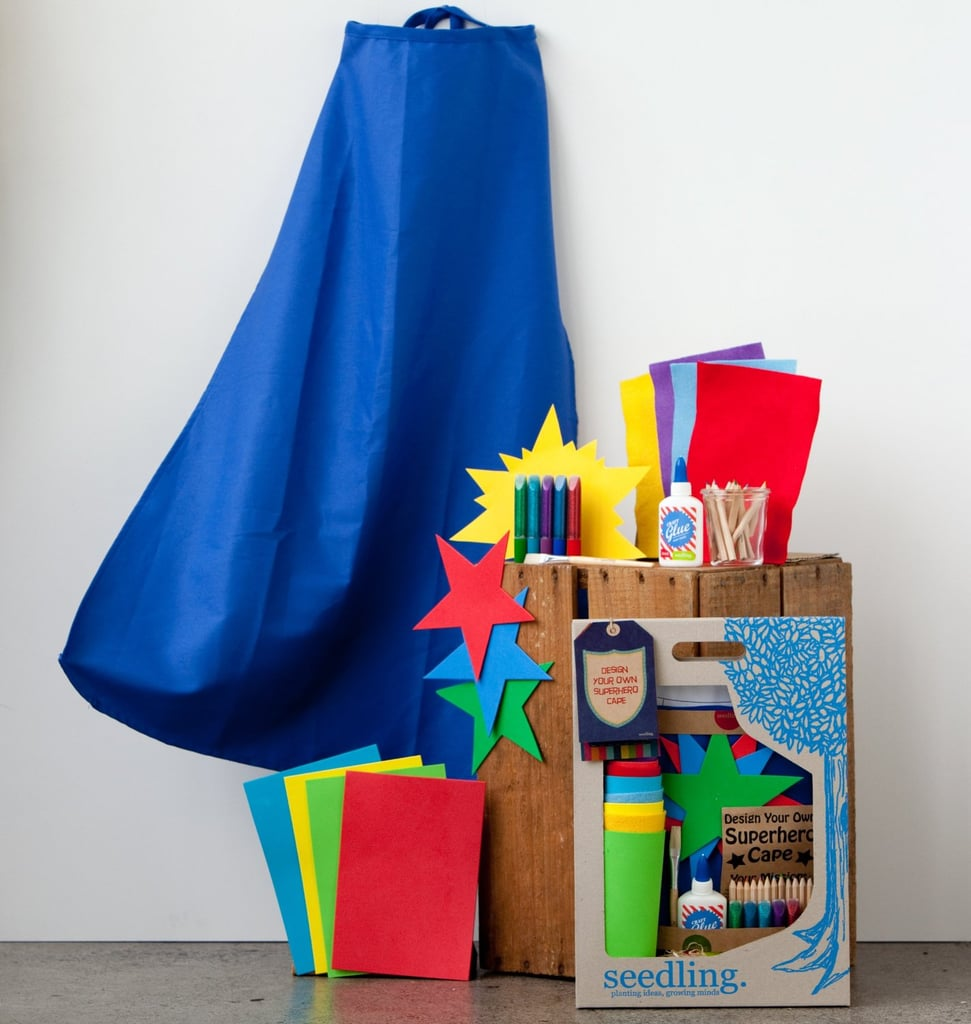 For 5-Year-Olds: Seedling Design Your Own Super Hero Cape