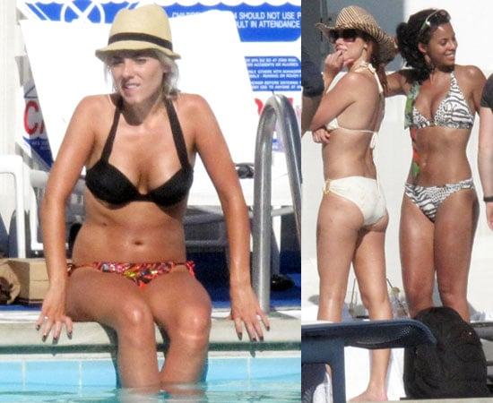 Pictures of The Saturdays in Bikinis Including Mollie King, Rochelle Wiseman, Una Healy in LA