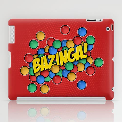 Protect your iPad with this rockin' Bazinga case ($60) reminiscent of one of the show's most recognized scenes.