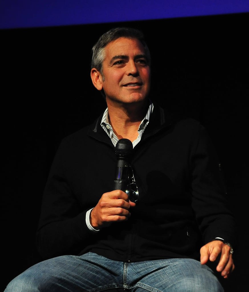 George Clooney talks The Descendants at the Telluride Film Festival.
