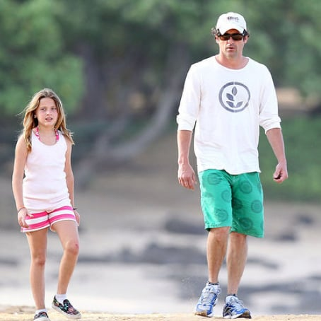 Patrick Dempsey Vacationing in Hawaii