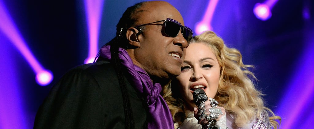 Stevie Wonder Crashed Madonna's Prince Tribute and Made Everyone Cry