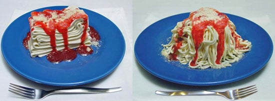 Specialized Extruder Makes Spaghetti Ice Cream a Dream Come True