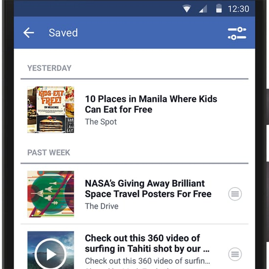 What Is the Facebook Save Button?