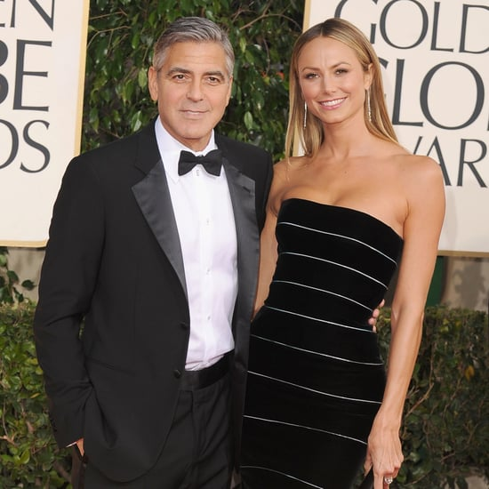 George Clooney at the Golden Globes 2013