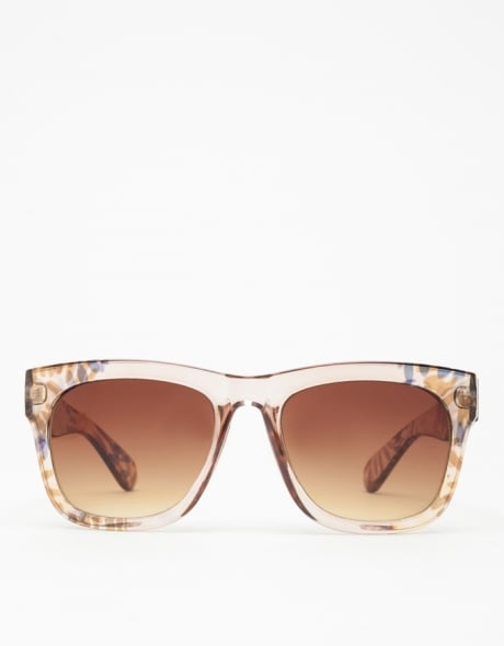 The best way to accessorize tanned Summer skin? Neutral-hued sunnies of course, like this Need Supply Co. pair ($18).