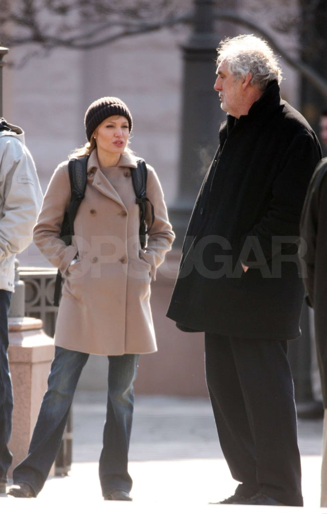 Angelina Jolie Filming Salt in DC