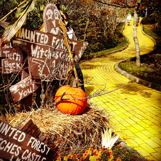 Abandoned Land of Oz Theme Park in North Carolina