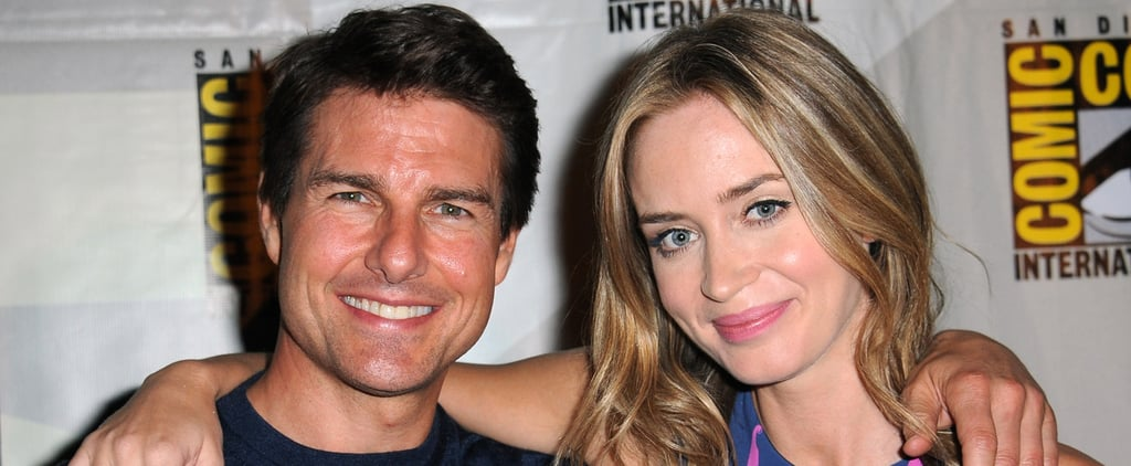 "How Emily Blunt Took On Tom Cruise's ""Insatiable Positivity"" and Won"