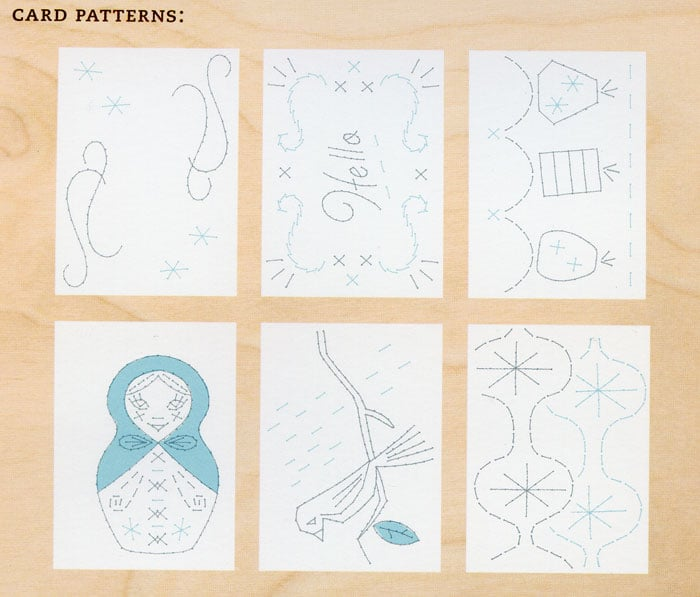 Say What? Stitchable Stationary is DIY Fun!