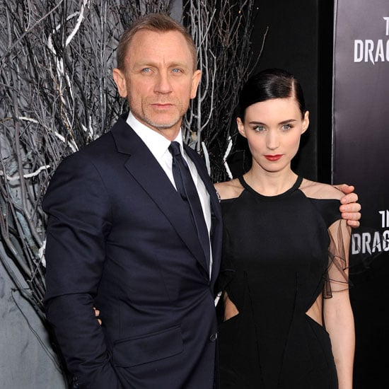 Rooney Mara Prabal Guring Pictures at NYC Dragon Tattoo