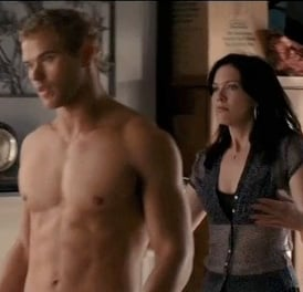 Video of Shirtless Kellan Lutz in Love Wedding Marriage