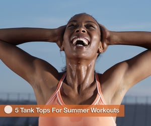 Fitness Tank Tops For Summer Workouts