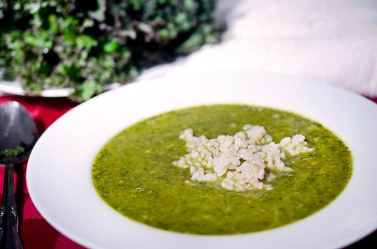 Creamy Kale and Rice Soup