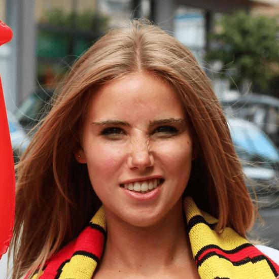 Belgian Girl Axelle Despiegelaere L'Oreal Modelling Contract