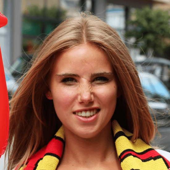 World Cup Fan Gets L'Oreal Modeling Contract