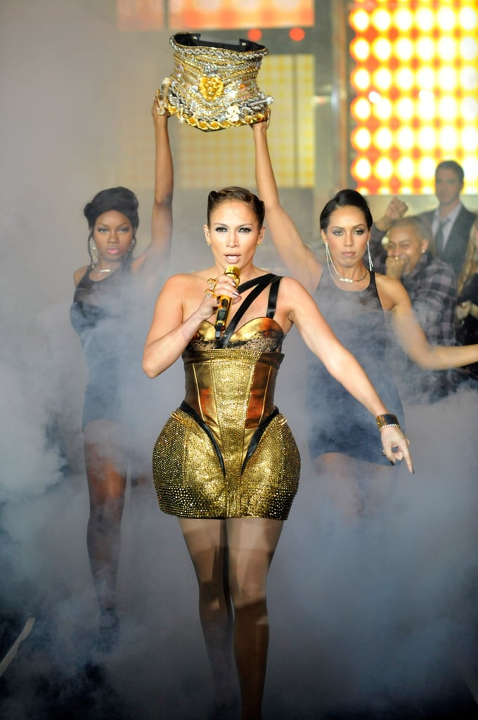 Jennifer Lopez channeled a boxing champion for her 2009 performance.
