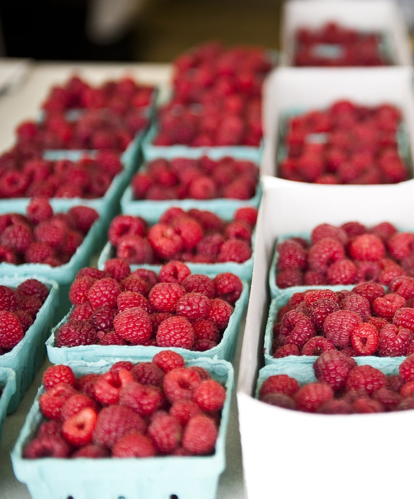 The Fall Food: Raspberries