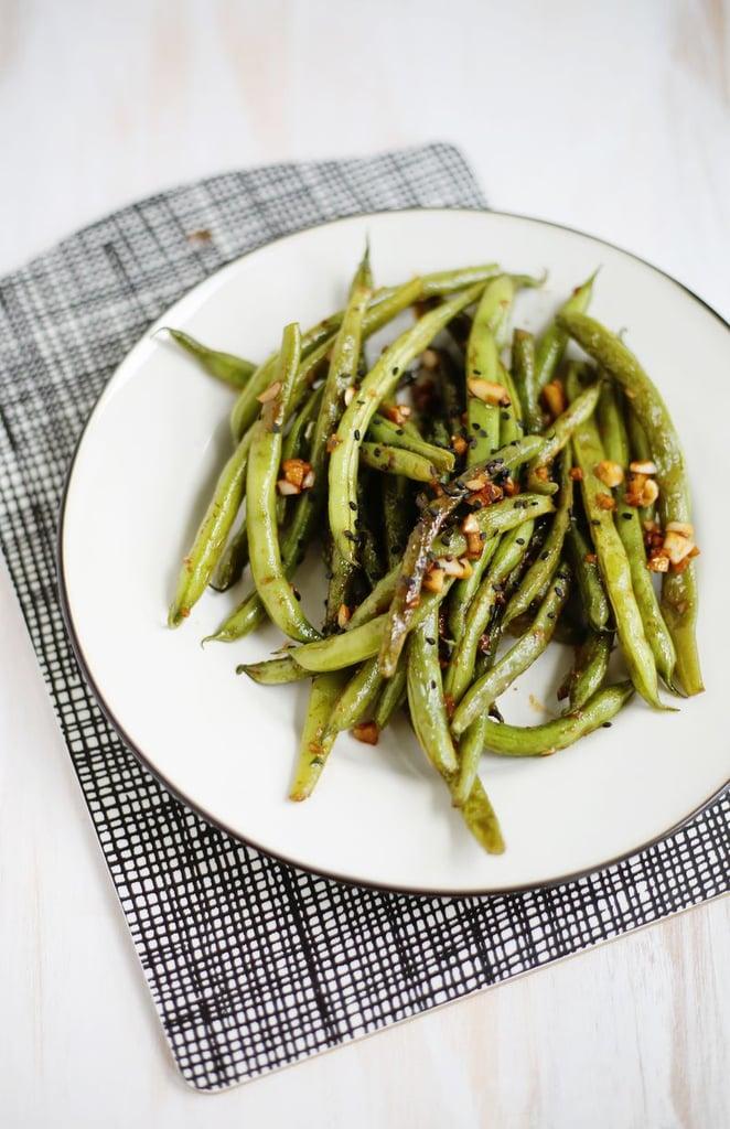 Garlic-Miso Green Beans