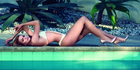 Shantel VanSanten Lounges Poolside In A Cutout Swimsuit For Maxim