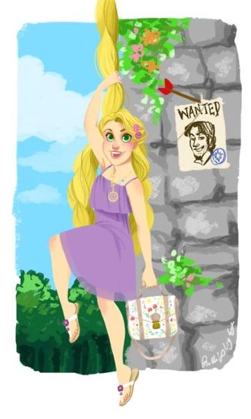 Modern Rapunzel