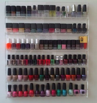 Guess Who Owns This Impressive Nail Polish Collection?